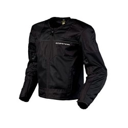DRAFTER Men's Black Mesh Sport Jacket by: ScorpionExo