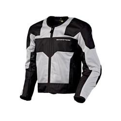 DRAFTER Men's Silver Mesh Sport Jacket by: ScorpionExo