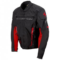 Scorpion Men's BATTALION Red/Black Sport Bike Jacket