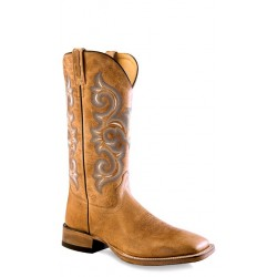 OLD WEST -Mens Broad Square Toe Boot BSM1858