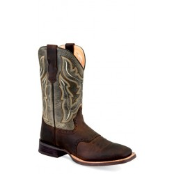 OLD WEST -Mens Broad Square Toe Boot BSM1881
