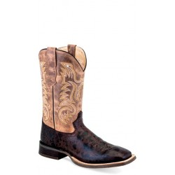 OLD WEST -Mens Broad Square Toe Boot BSM1882