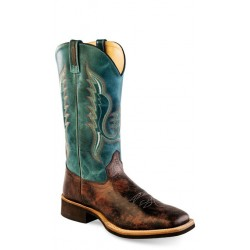 OLD WEST - Mens Broad Square Toe Boot BSM 1861