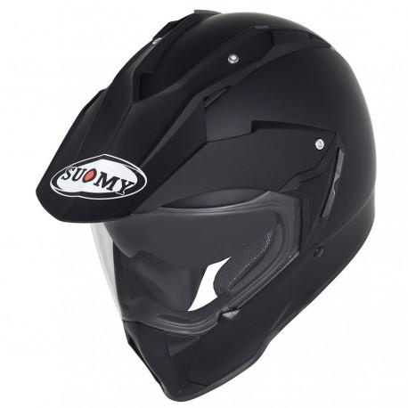 SUOMY Casco SY MX Tourer DOT Matte Black Helmet