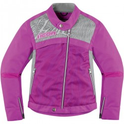 Icon Womens Hella 2 Jacket Purple