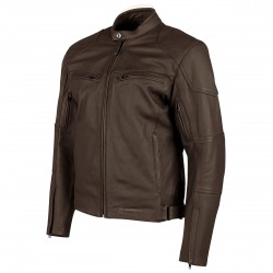 Joe Rocket Mens RASP Leather Jacket Brown