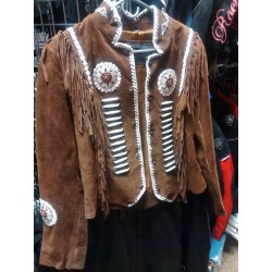 LADIES WESTREN JACKET BROWN 3010