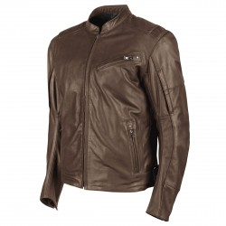 Joe Rocket Mens POWERGLIDE Leather Jacket Brown