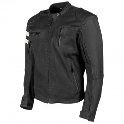 Joe Rocket Mens Rocket 67 Leather / Textile Jacket Black