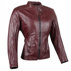 Joe Rocket's Womens Glorious &Free Leather Jacket -Black