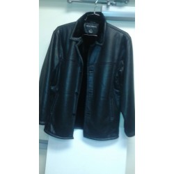 Oscar. Faux leather jacket black.