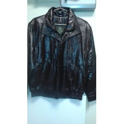 Bomber jacket Shinny Brown. B131BS