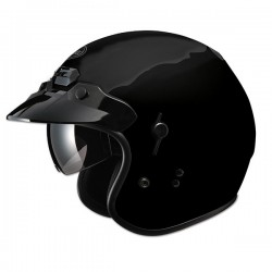 MAX GM32 OPEN FACE HELMET BLACK