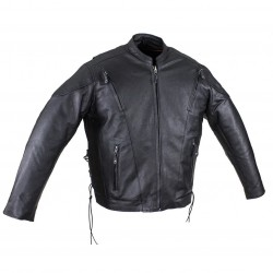 Mens ECONOMY Racer Jacket with Side Laces