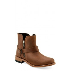 Old West Ladies Light Tan Fashion Wear Boots - 18164