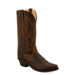 Old West LF1511 - Brown Ladies Fashion Wear Boot