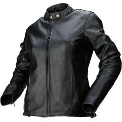 357 Women's Vented Leather Jacket
