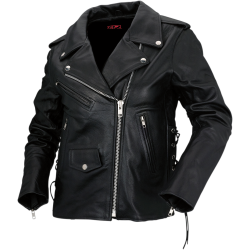 9mm Womens Leather Jacket