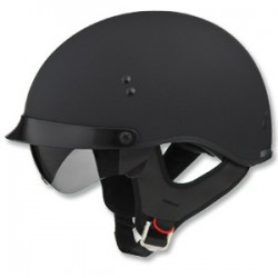 Matte black - GM65 Half Helmet- Fully Dressed