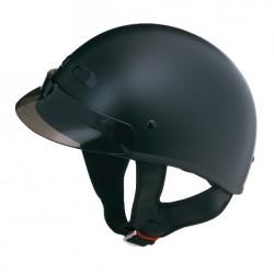 GM35 Half Helmet- Fully Dressed Matte Black