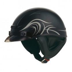 Derk - GM35 Half Helmet- Fully Dressed
