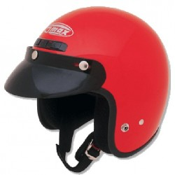 Red GM2 Open Face Helmet