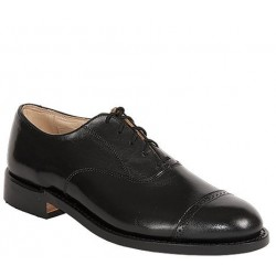 Men's WM. Moorby Footwear 2806 Pecan Tumbled Oxford