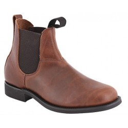 "Men`s CANADA WEST® Romeos - 14337 6"" Pecan Tumbled - Vibram 430 sole"
