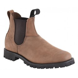 "Men`s CANADA WEST® Romeos - 14339 6"" Chocolate Bullrider - Vibram 132 sole"