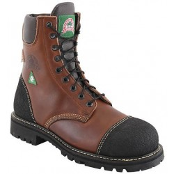Canada West 34422 Steel-Toe Pecan Tumbled Insullated Lace Work Boots CSA Grade 1