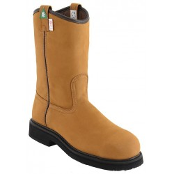 """Canada West 5293 12"""" Camel Goldrush-Insulated-Lined Steel-Toe Work Western Boots CSA Grade 1"""