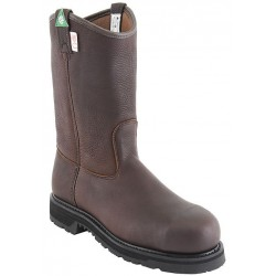 """Canada West 5295 12"""" Bark Stormy-Insulated-Lined Steel-Toe Work Western Boots CSA Grade 1"""
