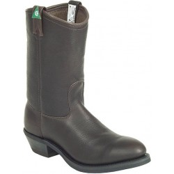 """Canada West 5294 12"""" Bark Stormy-Lined Steel-Toe Work Western Boots CSA Grade 1"""