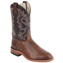 "Arizona Cafe / Barcelona Brown 12"" 8201 Canada West Leather Sole Brahma Ranchman Ropers"