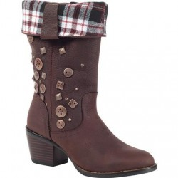 Durango City Philly Women's Brown Turn Down Pull-On Boot RD047