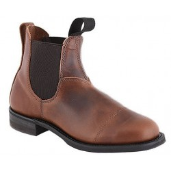"Ladies' 6"" Pecan Tumbled CANADA WEST® Romeos - 6776"