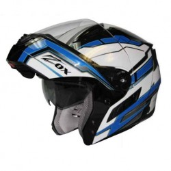Modular / Flip up Helmet with drop down visor Delta Blue Zox Condor