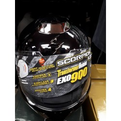 Scorpion EXO-900 Transformer Modular Helmet Black