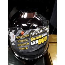 Scorpion EXO-900 Transformer Modular Helmet Black