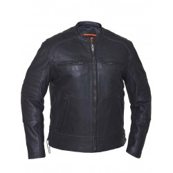 Men's SELECT Cowhide Leather Jacket 1.2 mm