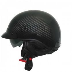 Zoan Route 66 Half Helmet Matte Carbon