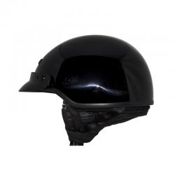 ZOX BANOS STG HALF HELMET Glossy Black