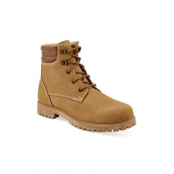 Old West OUTDOORS - 98201 Mens CEDAR PARK Honey Nubuck with Pecan Collar Outdoor Boots with TPR Outsole