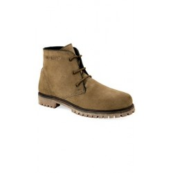 Old West OUTDOORS - 98204 Mens CITY Camel Suede Outdoor Boots with TPR Outsole