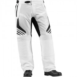 Icon Compound Leather Pants White