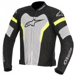 Alpinestars T-GP Pro Air Jacket Black/White/Yellow/Fluo