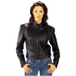 Ladies Lightweight Leather Jacket 384