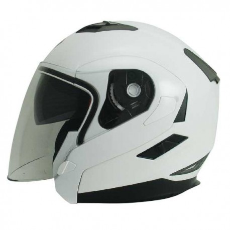 Zoan Long Jet White Helmet