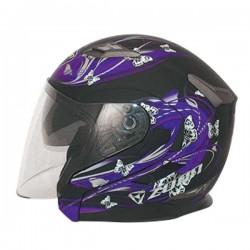 Zoan Long Jet Matte Butterfly Helmet