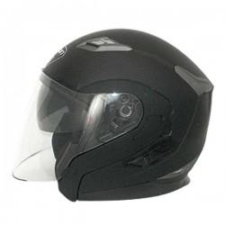 Zoan Long Jet Matte Black Helmet